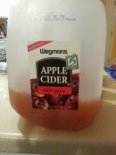 Cheap pasteurized cider, most concerned about this ingredient.