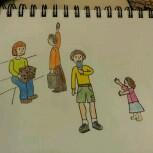little people doodles