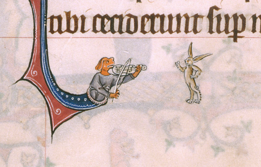 f86v-dog-with-violin-playing-for-a-rabbit