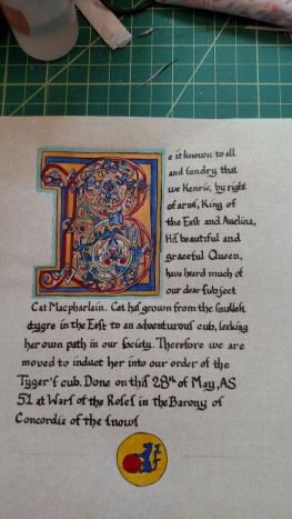 Tyger's Cub, AS 51, War of the Roses